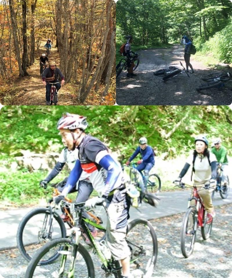 初秋の二口峡谷をマウンテンバイクで走ろう!!
