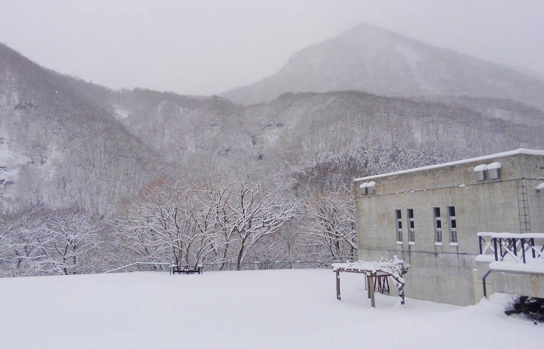 ビジターセンター冬期休館