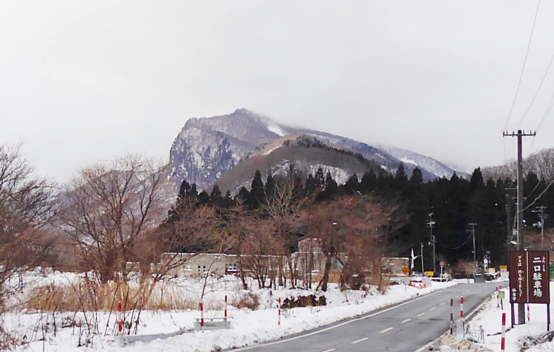 秋保ビジターセンターと「雪の磐司岩」
