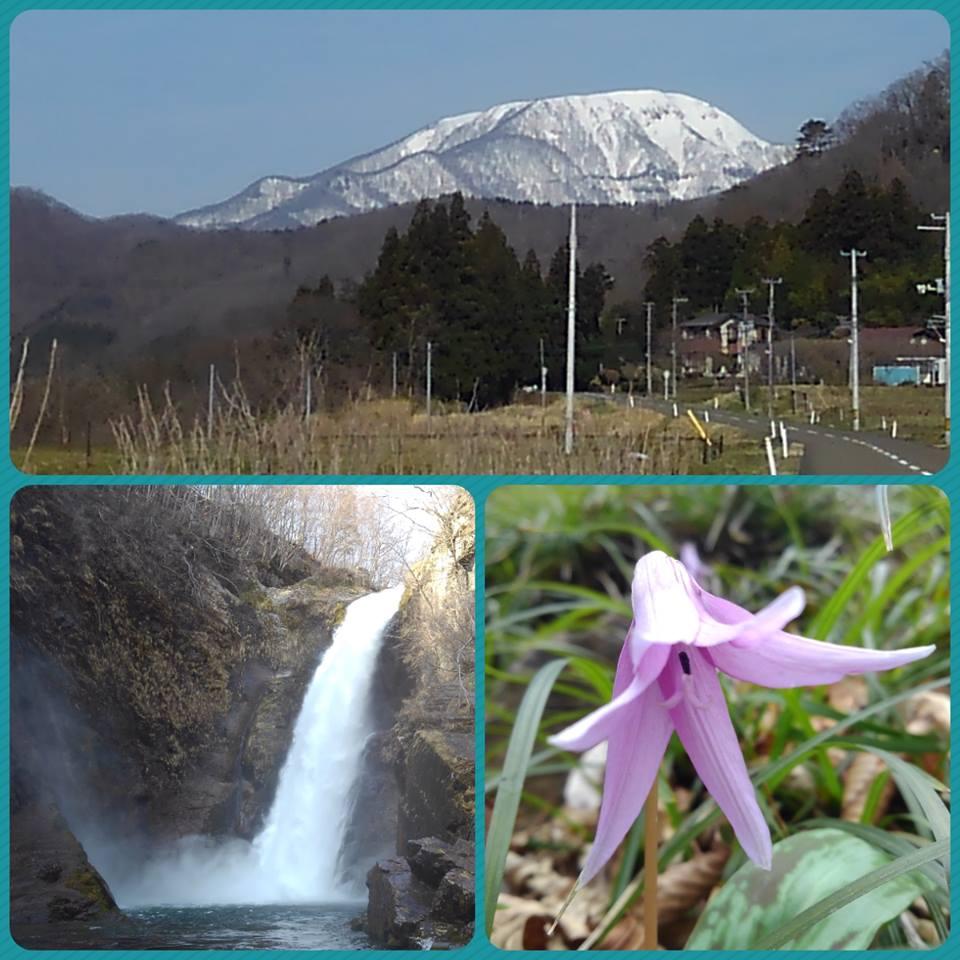 雪化粧の大東岳